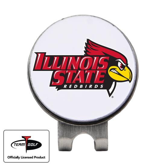 Classic Illinois State Redbirds Hat Clip