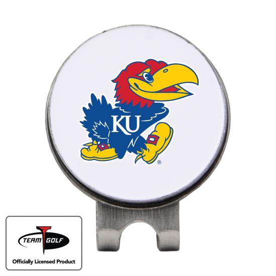 Classic Kansas Jayhawks Hat Clip