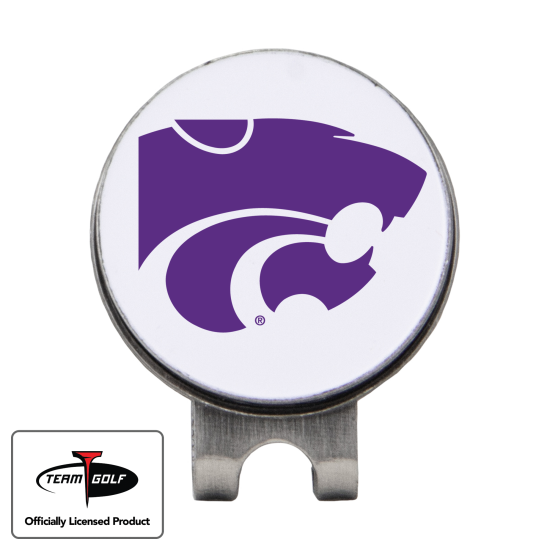 Classic Kansas State Wildcats Hat Clip