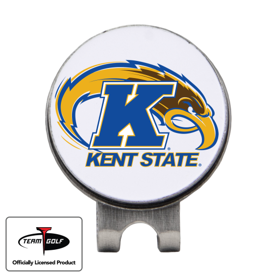 Classic Kent State Golden Flashes Hat Clip