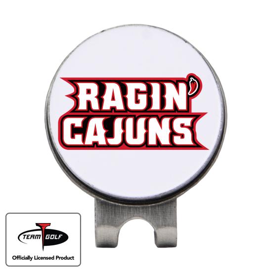 Classic Louisiana Ragin' Cajuns Hat Clip
