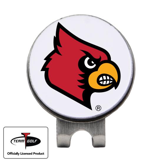 Classic Louisville Cardinals Hat Clip