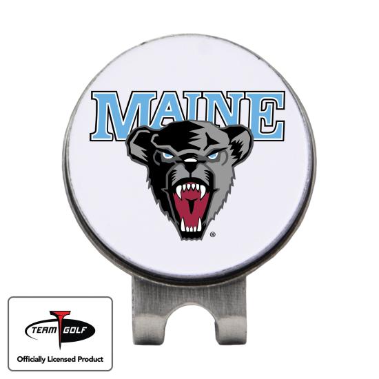 Classic Maine Black Bears Hat Clip