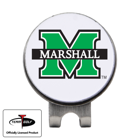 Classic Marshall Thundering Herd Hat Clip