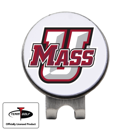 Classic UMass Minutemen Hat Clip