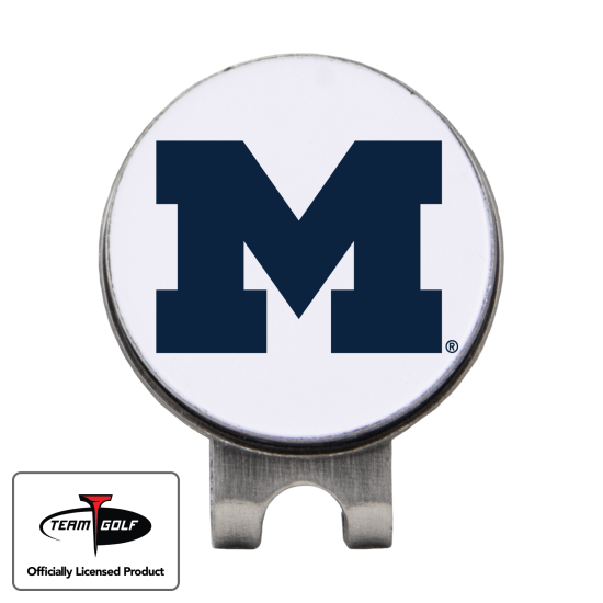 Classic Michigan Wolverines Hat Clip