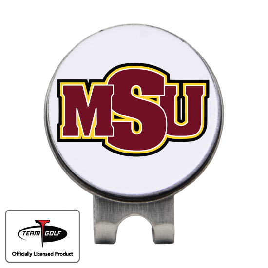 Classic Midwestern State Mustangs Hat Clip