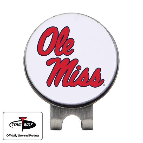 Classic Ole Miss Rebels Hat Clip