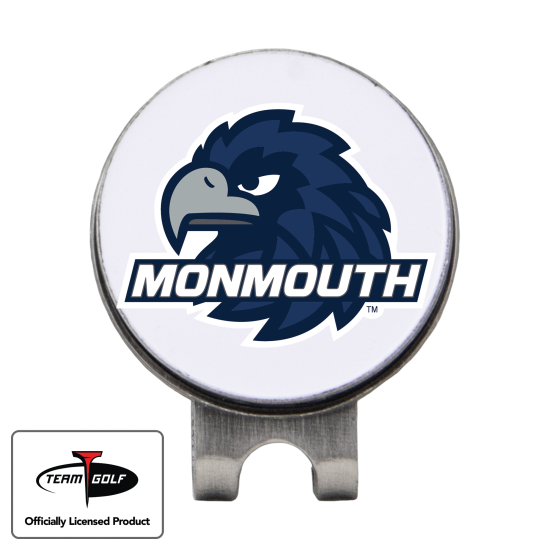 Classic Monmouth Hawks Hat Clip