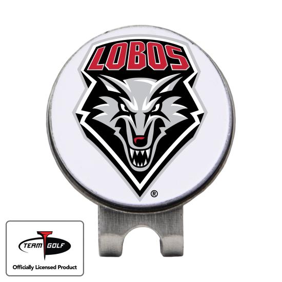 Classic New Mexico Lobos Hat Clip