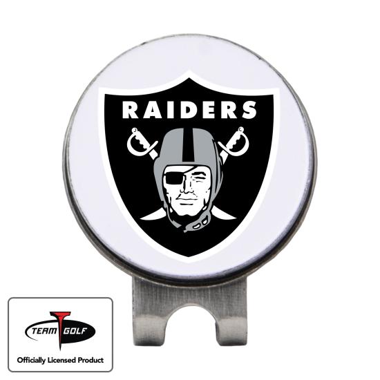 Classic Oakland Raiders Hat Clip