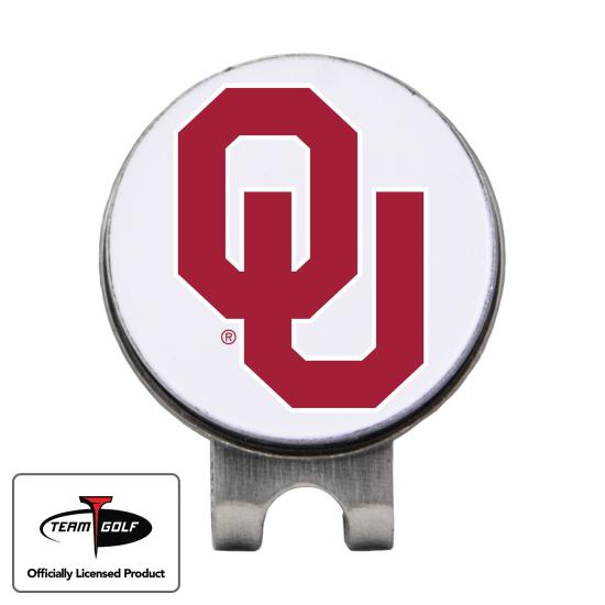 Classic Oklahoma Sooners Hat Clip