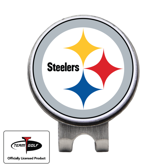 Classic Pittsburgh Steelers Hat Clip