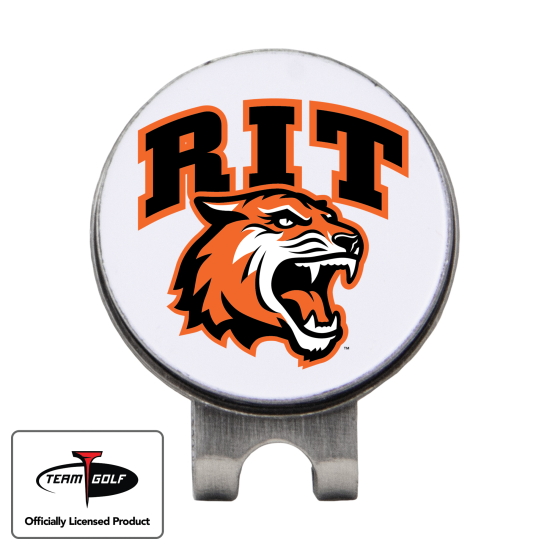 Classic RIT - Rochester Institute of Technology Tigers Hat Clip