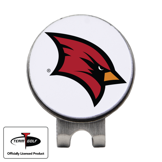 Classic Saginaw Valley State Cardinals Hat Clip