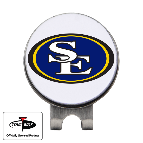 Classic Southeastern Oklahoma State Savage Storm Hat Clip