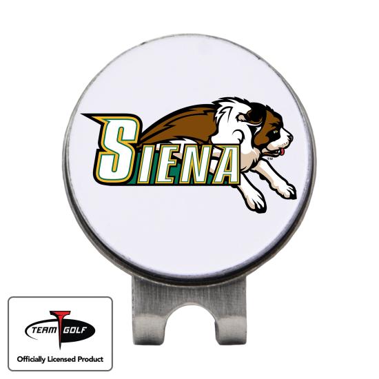 Classic Siena Saints Hat Clip