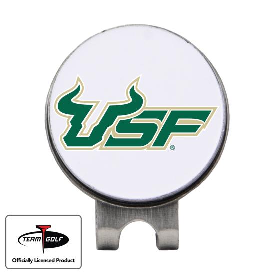 Classic South Florida Bulls Hat Clip