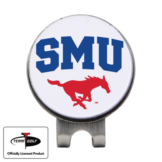 Classic SMU Mustangs Hat Clip