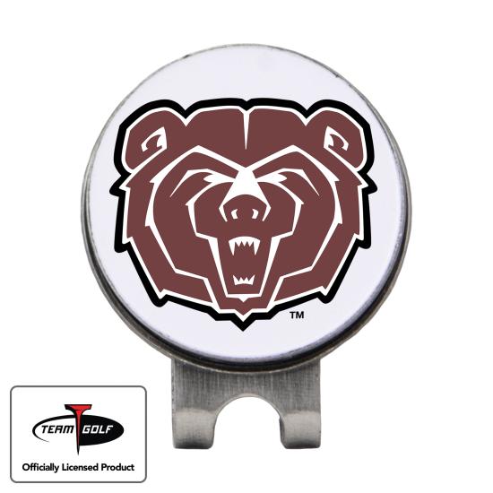 Classic Southwest Missouri State Bears Hat Clip
