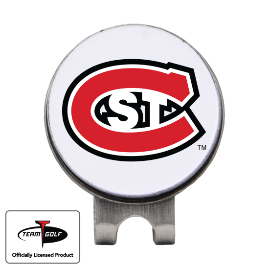 Classic St. Cloud State Huskies Hat Clip