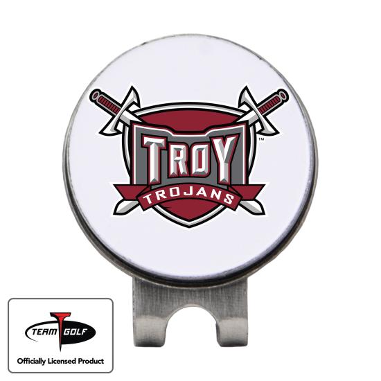 Classic Troy Trojans Hat Clip
