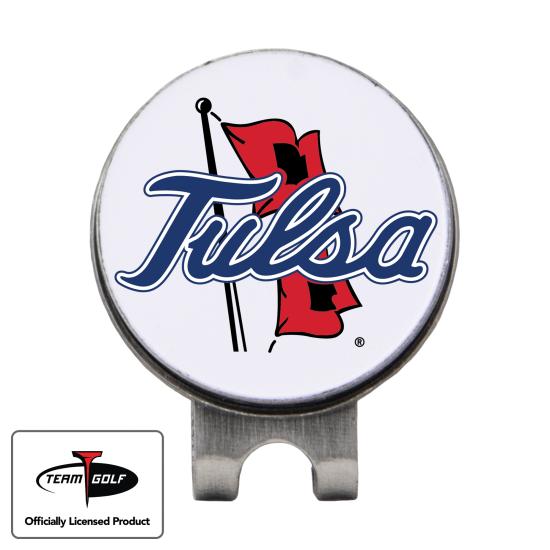 Classic Tulsa Golden Hurricane Hat Clip