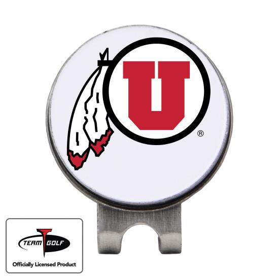 Classic Utah Utes Hat Clip
