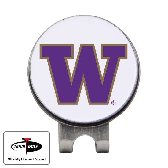 Classic Washington Huskies Hat Clip