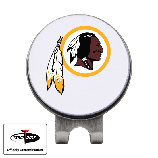Classic Washington Redskins Hat Clip