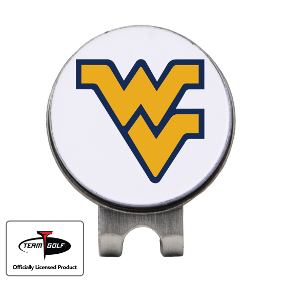 Classic West Virginia Mountaineers Hat Clip