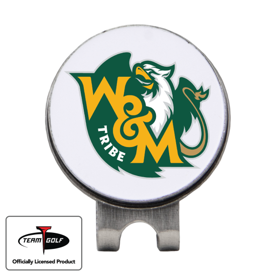 Classic William & Mary Tribe Hat Clip