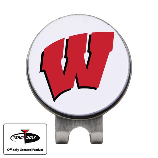 Classic Wisconsin Badgers Hat Clip