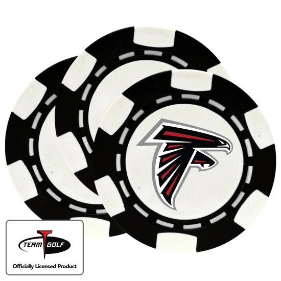 Classic Atlanta Falcons Poker Chips - 3 Pack