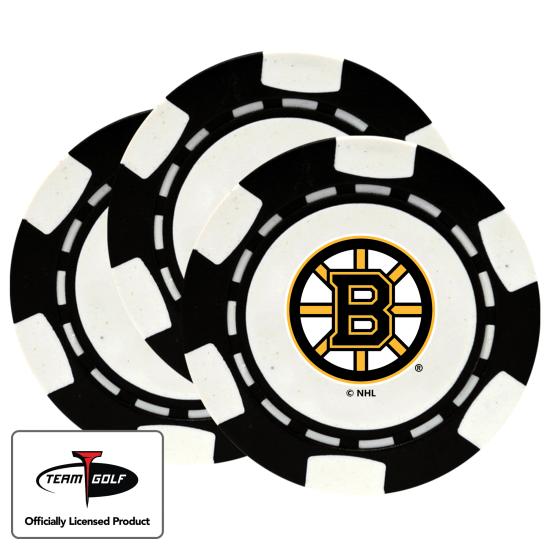 Classic Boston Bruins Poker Chips - 3 Pack