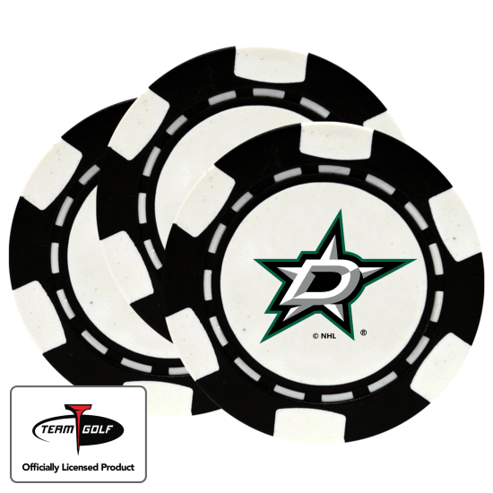 Classic Dallas Stars Poker Chips - 3 Pack