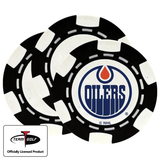 Classic Edmonton Oilers Poker Chips - 3 Pack
