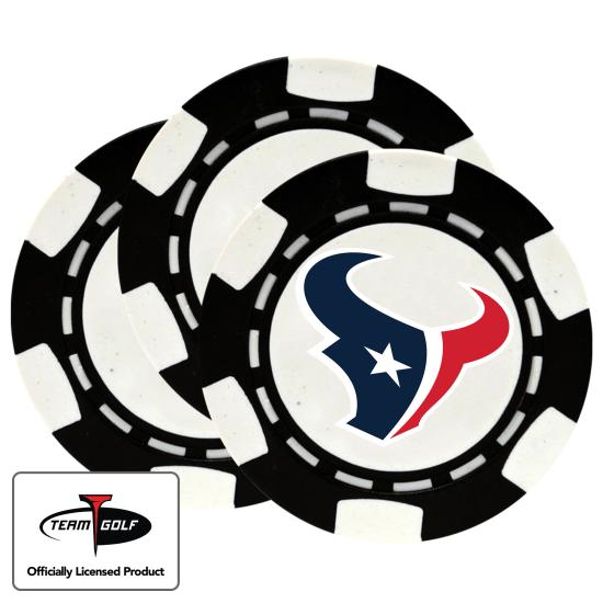 Classic Houston Texans Poker Chips - 3 Pack