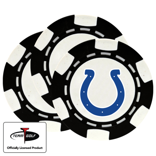 Classic Indianapolis Colts Poker Chips - 3 Pack
