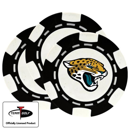 Classic Jacksonville Jaguars Poker Chips - 3 Pack