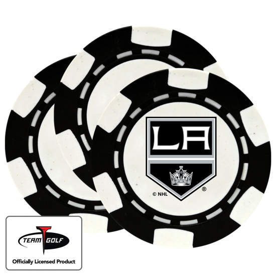 Classic Los Angeles Kings Poker Chips - 3 Pack