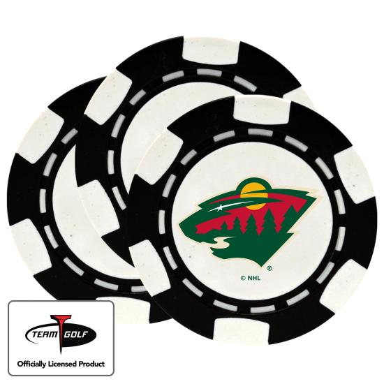 Classic Minnesota Wild Poker Chips - 3 Pack