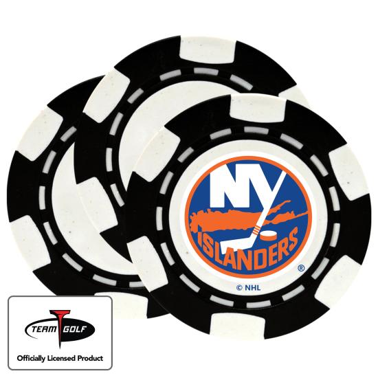 Classic New York Islanders Poker Chips - 3 Pack