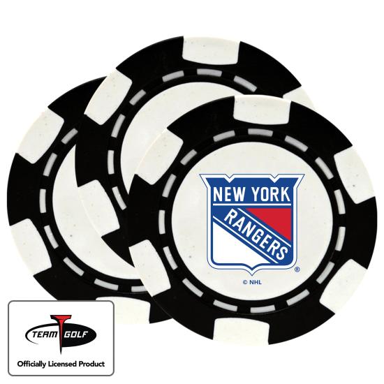 Classic New York Rangers Poker Chips - 3 Pack