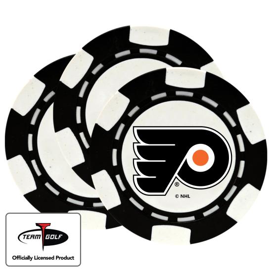 Classic Philadelphia Flyers Poker Chips - 3 Pack