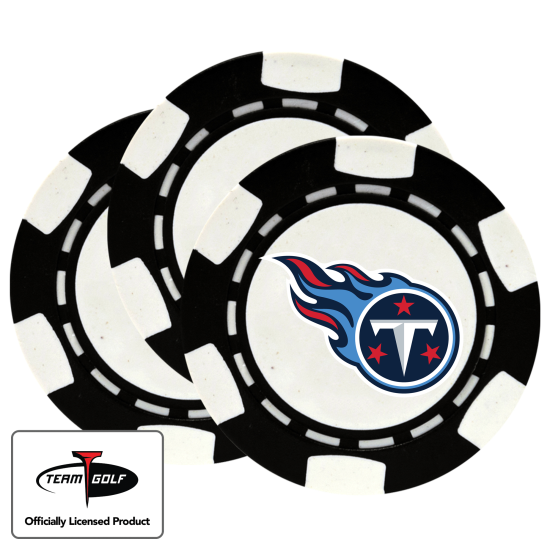 Classic Tennessee Titans Poker Chips - 3 Pack