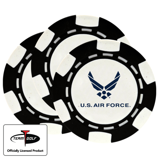 Classic US Air Force Poker Chips - 3 Pack