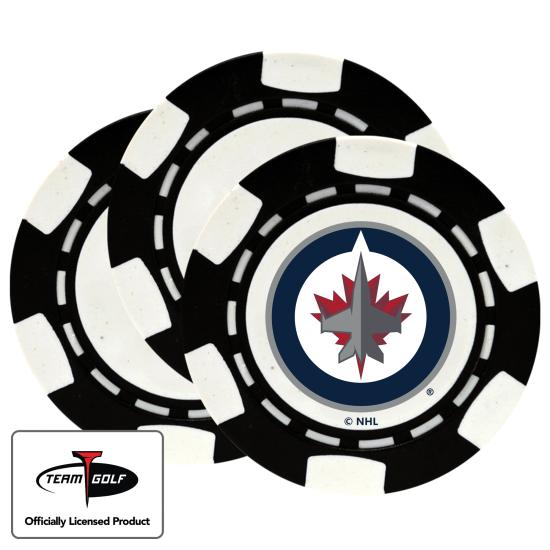 Classic Winnipeg Jets Poker Chips - 3 Pack